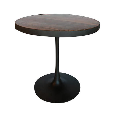 Industrial Pedestal Table