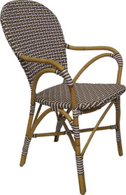 Café Chair Rattan Dining Chair  -  (Set of 4)