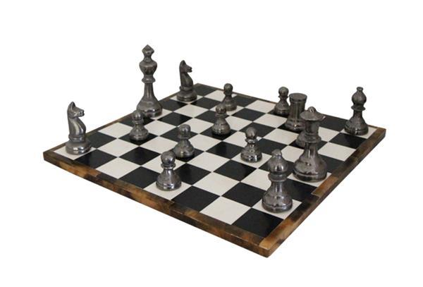 Chess Set - Stunning Aluminium Pieces