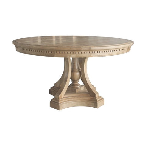 St James Round Dining Table - Natural Oak