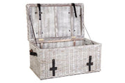 Kubu Grey White Wash Trunk - Choose Small, Large or Set of 3
