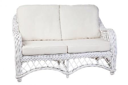 Olympia Rattan 2 Seater Sofa - White, Grey Wash or Kubu Finish