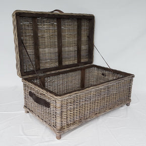 Rattan Trunk/Coffee Table - Kubu Grey