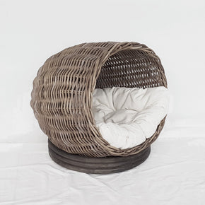 Pet Basket Round with cushion