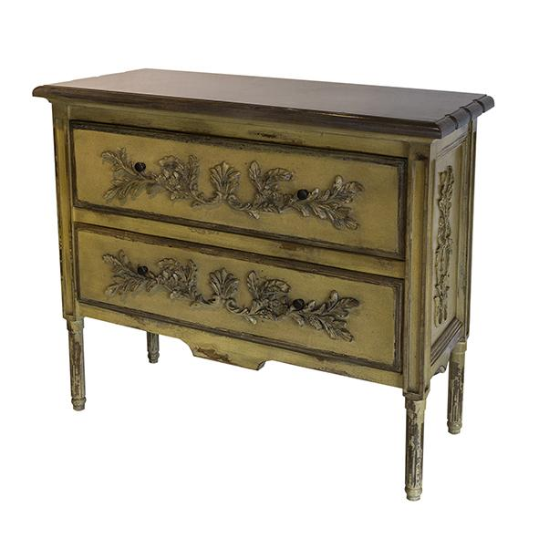 Deluer 2 Drawer Commode