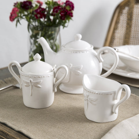 French Country Dragonfly Dinnerware