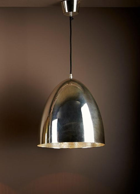 Egg Ceiling Lamp - Silver