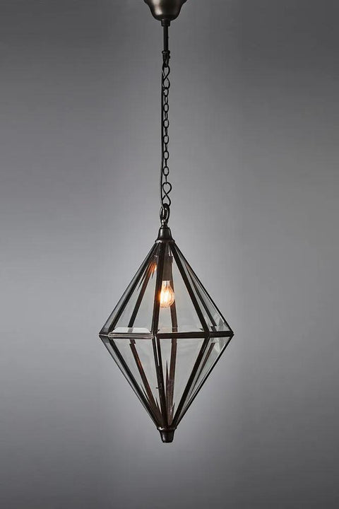 Clifftop Hanging Lamp - Bronze