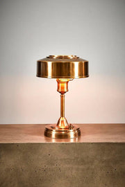 Bankstown Art Deco Table  - Antique Brass