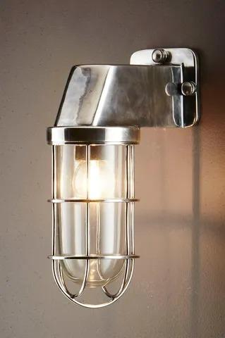 Royal London Wall Lamp - Antique Silver