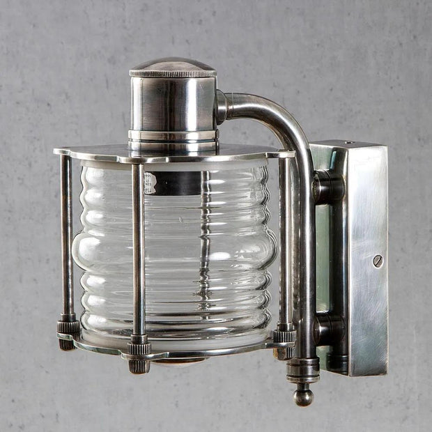 Yarra Wall Lamp - Antique Silver