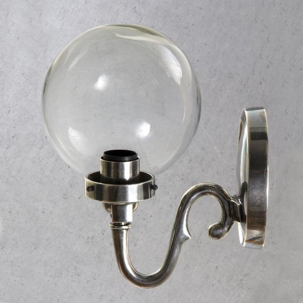 Tuscany Round Glass Wall Lamp