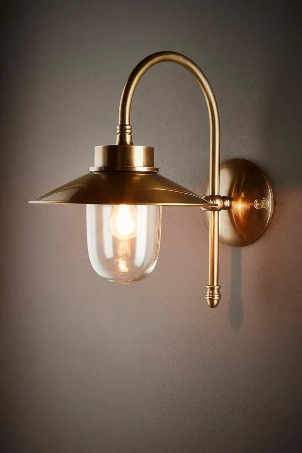 Legacy Sconce Base - Antique Brass