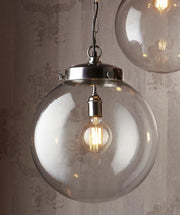 Celeste Round Glass Pendant Light - 3 Sizes