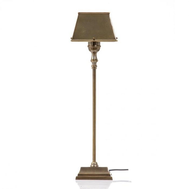 Collin Table Lamp With Metal Shade Brass