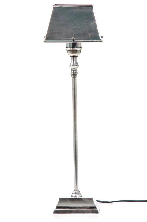 Collin Table Lamp W/Metal Shade Silver