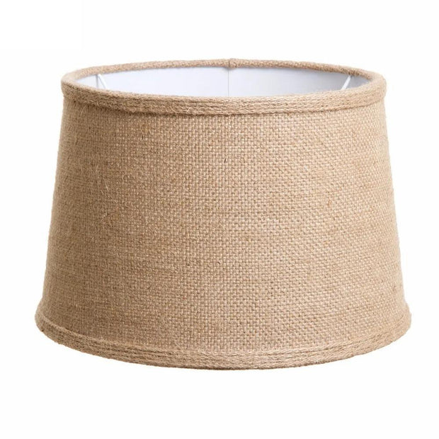 Lamp Shades - Linen Drum - 12 x 10.5 x 8H