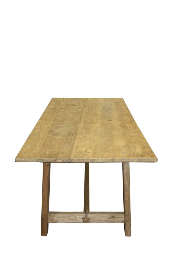 Village Bleached Elm Dining Table