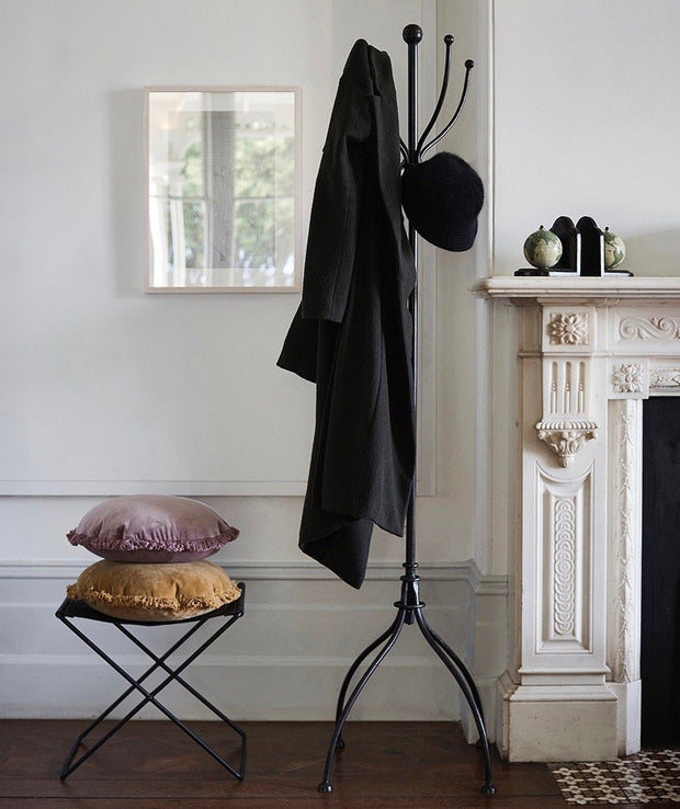 Tall Iron Coat Stand