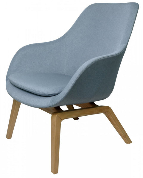 Vana Occassional Chair - Duck Egg or Grey - Allissias Attic & Vintage French Style  - 2