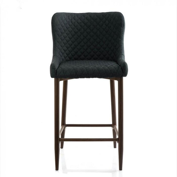 Gigi Barstool in Basalt, Pewter or Petrol