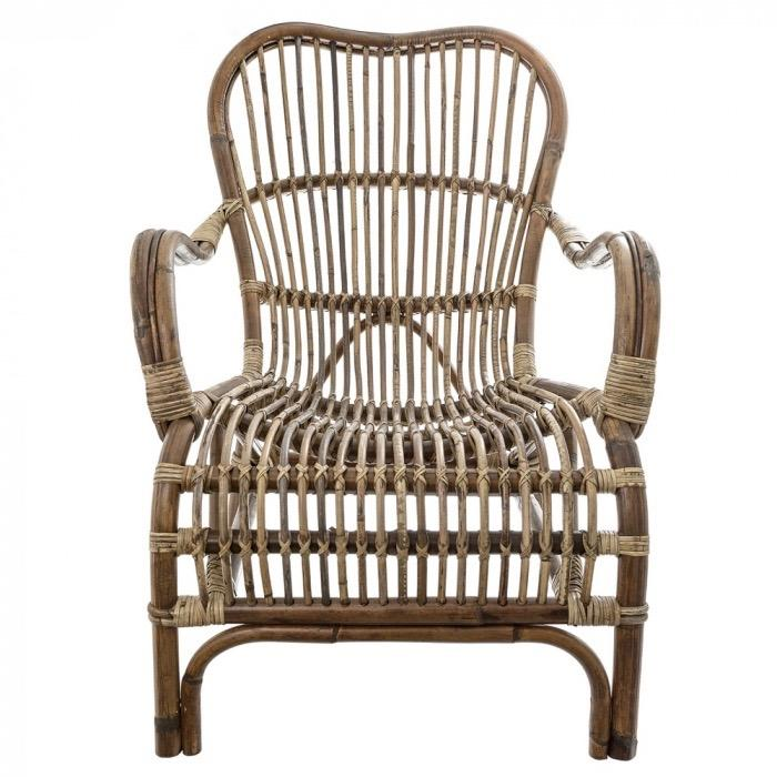 Seville Rattan Armchair - Allissias Attic & Vintage French Style