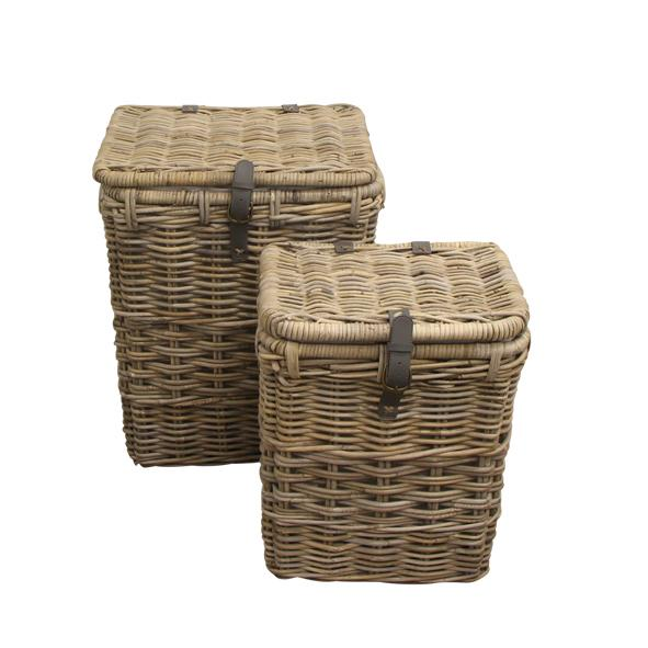 Grove Woven Baskets Rectangular (Set of 2)