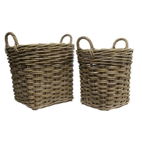 Grove Woven Baskets (Set of 2)