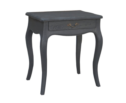 Denon Side Table - Distressed Black