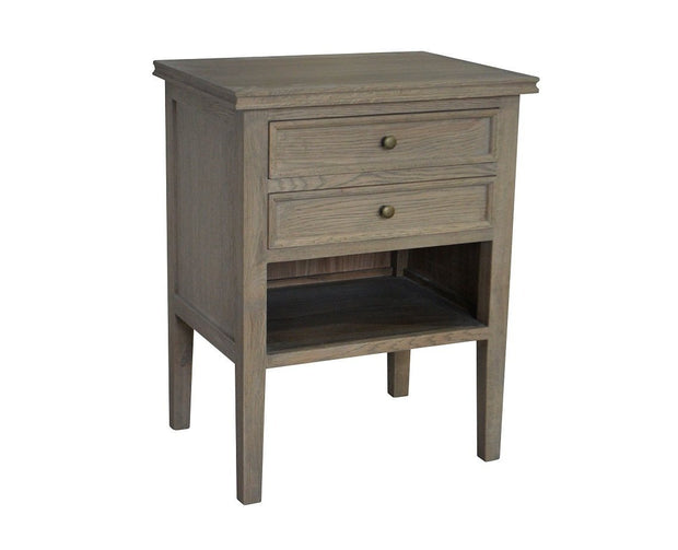 Partrack Side Table - Weathered Oak