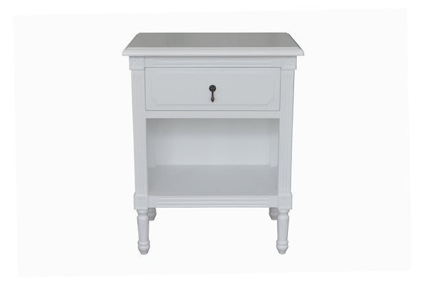 Dover Side Table  - White