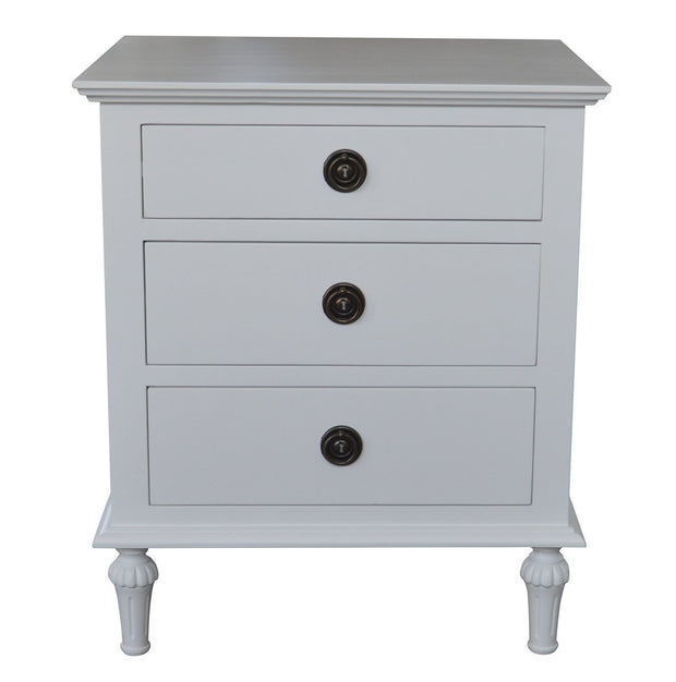 Emmerson Side Table - White
