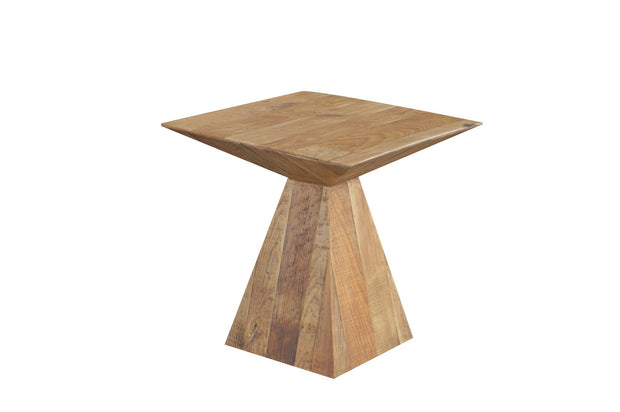 Beetle Side Table - Recycled Timber