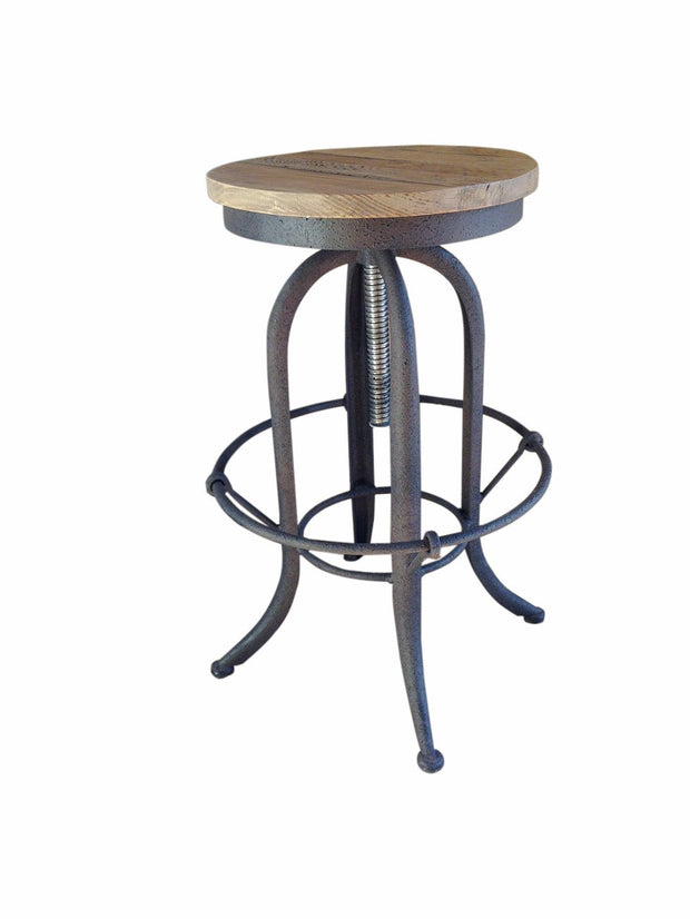 Industrial Styled Andrew Barstool - Set of 2