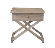 Levi Side Table - Burnt Oak