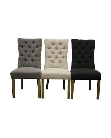 Henry Charcoal - Set Of 2  Dining  Chair