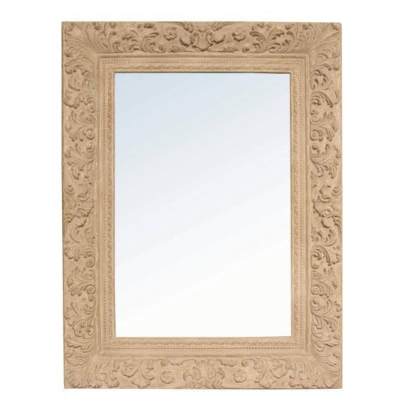 Filagree Wooden Mirror called Hera