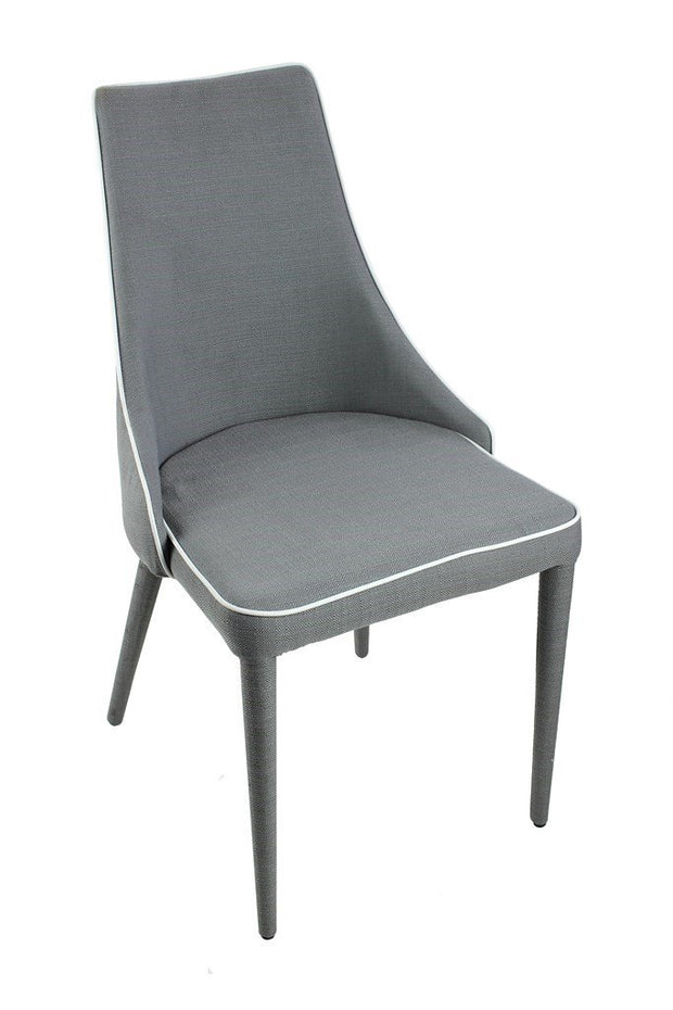 Dining Chair - Grey - Set of 2