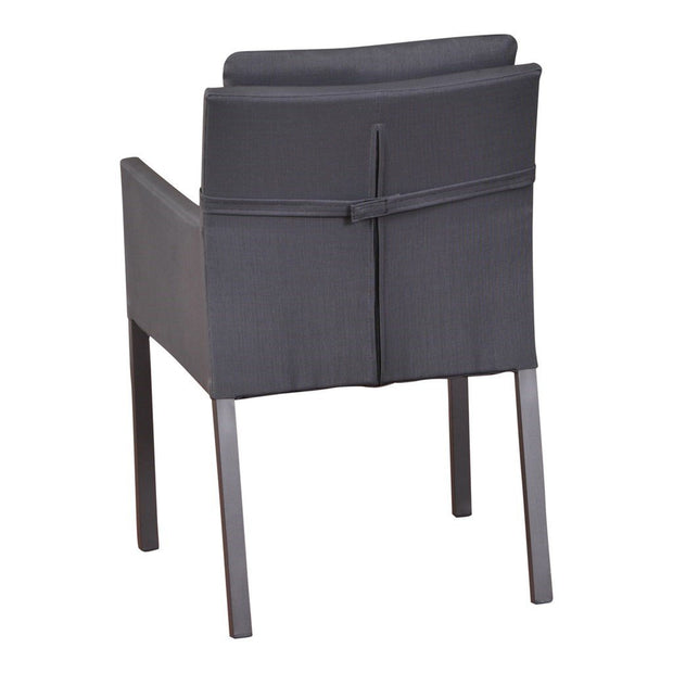 Caribean Chair Carbon Grey- Mouse Grey Legs