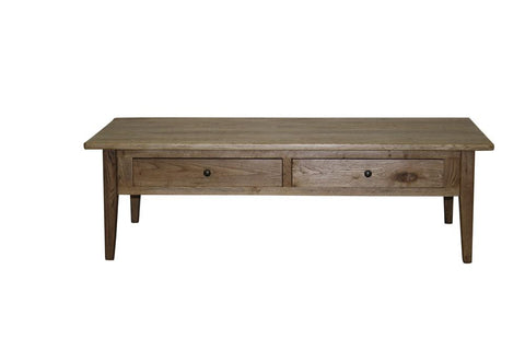 Flinders 2 Drawer Natural  -  Coffee Table