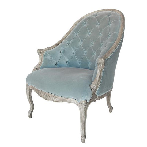Julia Buttoned Bedroom Chair