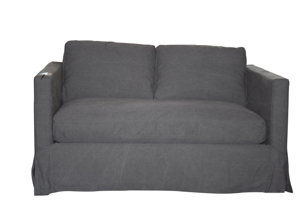Kelly 2 Seater - Charcoal  -  Sofa