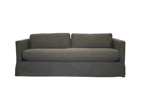 Kelly 3 Seater - Charcoal  -  Sofa