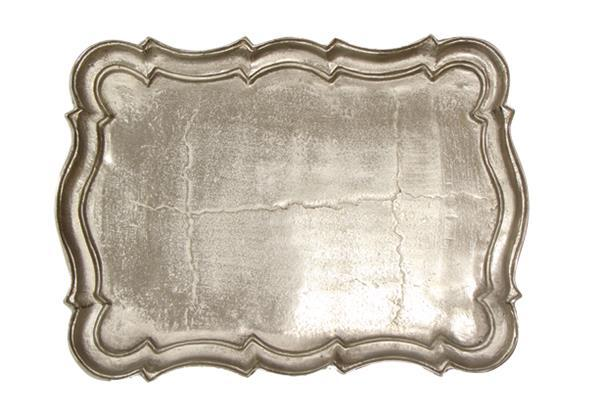 Scalloped Edge Como Tray