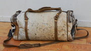 Cowhide Overnight Bag