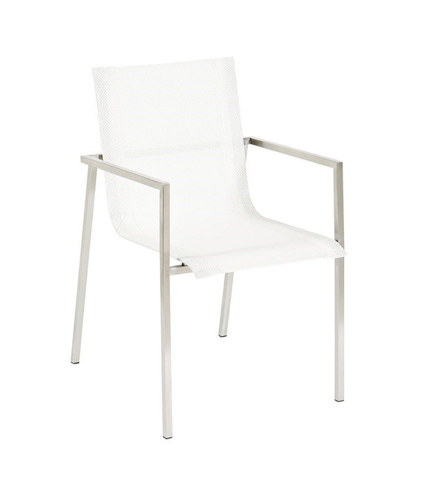 Mesh Dining Chair - White - Set of 2