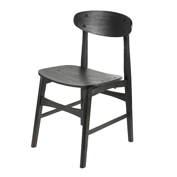 Malmo Black Dining Chair (Set of 2)