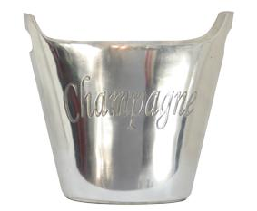 Oval Champagne Bucket with Handles