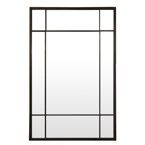 Iron Grid Mirror - Rectangle