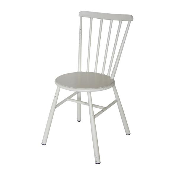 Retro White Dining Chair (Set of 2)